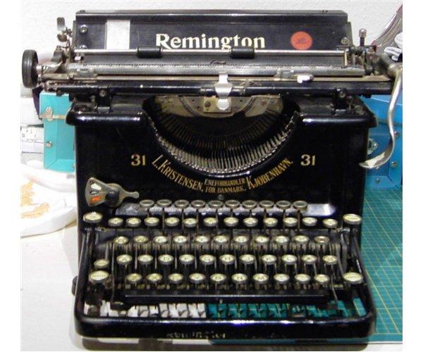 remington-skrivemaskine