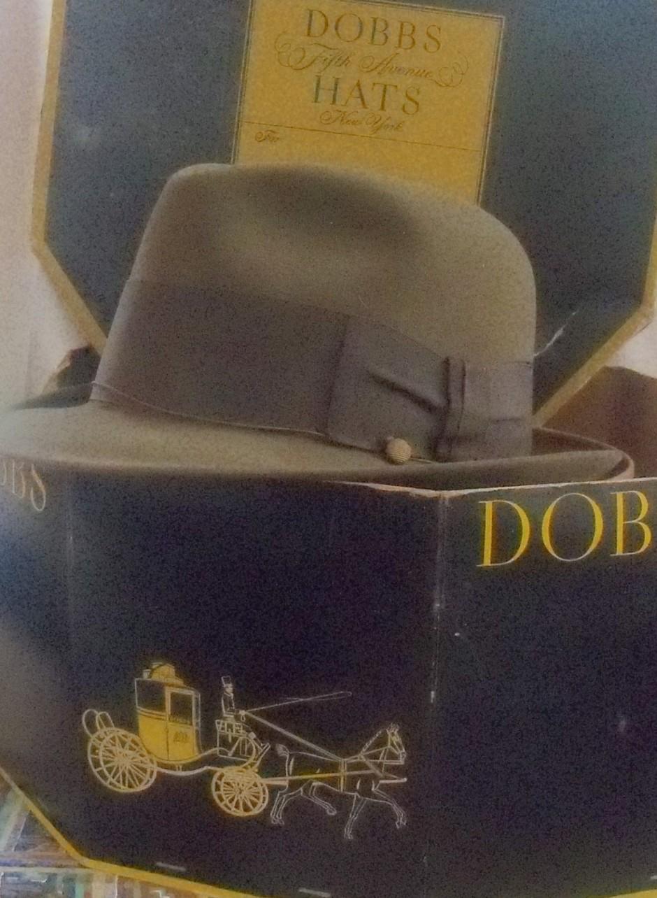 Don Draper Fedora Rat Hat