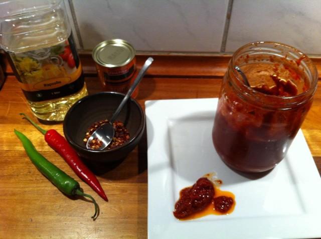 Ramsus Rimhoffs chili/olie pasta